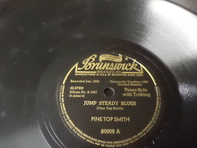 Brunswick Collectors Series Jazz 78/Pine Top Smith-Boogie Piano+...