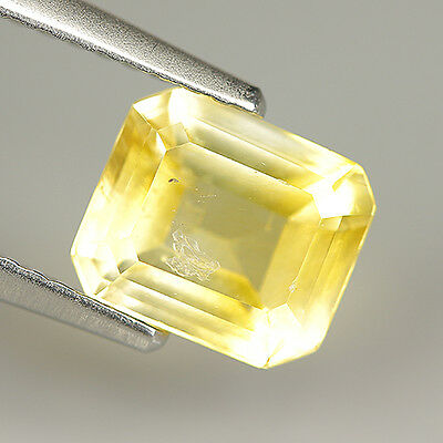 1.44 Ct Natural Ultra Rare Mexico CALCITE Octagon Gem @See Sample Certificate !!