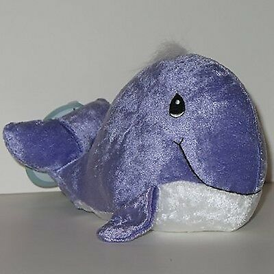 Precious Moments Tender Tails Purple Whale