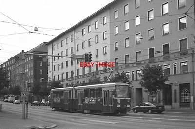 Photo  1995 Finland Helsinki Tram No 56 On Route No 3T