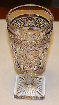 4 Low Goblets Imperial Cape Cod Goblets Glass