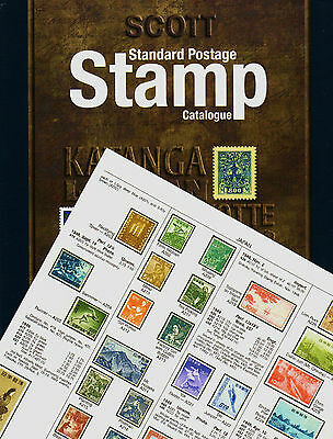 Switzerland Scott 2015 Stamp Catalog Pages 637-690 Vol6 Genuine Complete*color