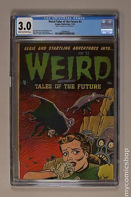 Weird Tales of the Future (1952) #4 CGC 3.0 1258848002