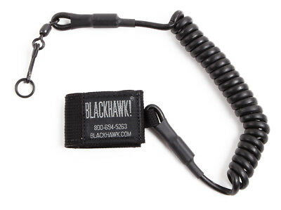 BLACKHAWK! 90TPL2BK Pistol Lanyard Swivel Tactical