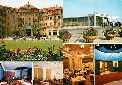 72894761 Piestany Thermia Palace Speisesaal Garten  Piestany