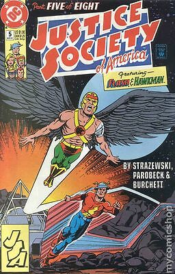Justice Society of America (1991 1st Series) #5 FN