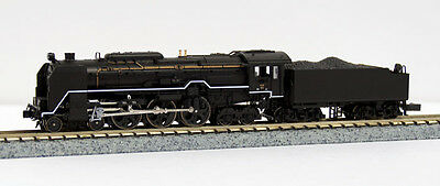 Kato 2017-5 JNR Steam Locomotive Type C62 Sanyo (Kure Line) (N scale)
