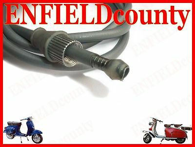 New Lambretta Scooter Complete Speedometer Cable @cad