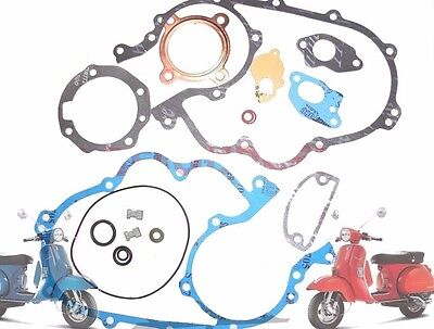 Complete Engine Gasket Kit Packing Kit 200 P 200 E Vespa Px Scooters @cad