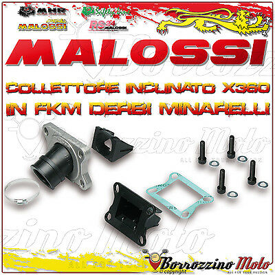 Malossi 2013800 Collettore Inclinato X360 Ø 21 - 24,5 Aprilia Rs 50 2T Lc Am 6