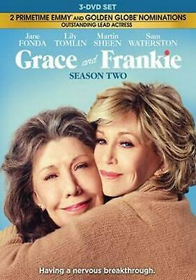 Grace and Frankie: the Complete Second Season - DVD Region 1 Free Shipping!