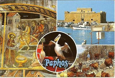 Paphos - Views - Cyprus, Posted Postcard