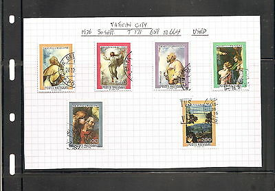 Sheet Of  6  Vatican  City   Fine Used   Stamps