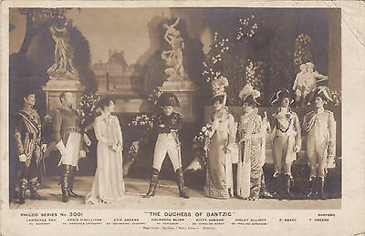 Edwardian Theatrical Card - Scene From The Duchess Of Dantzig - Philco - (F559)