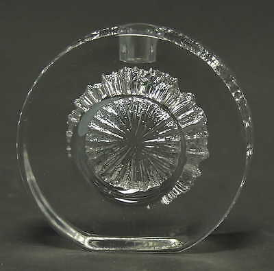 Daum CRYSTAL CRATERE CANDLEHOLDER 2340182