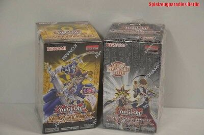 2 Boxen Yu-Gi-Oh! Duelistpack Rivals of the Pharaoh + Duelistpack  Battle City#