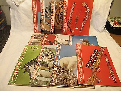 Vintage Magazines American Rifleman 1965 LOT of 12 Issues COMPLETE YEAR