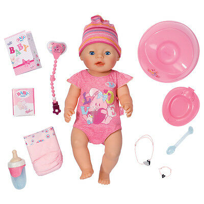 Baby Born Interactive Girl Doll NEW
