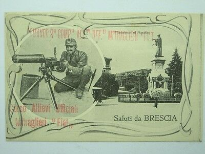 Military Machine Gunners-Fiat 2° Brescia-Oq2-S42814