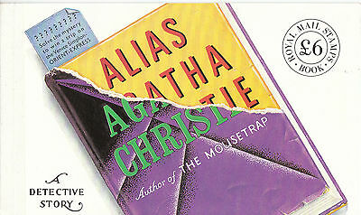 Gb 1991 Prestige Booklet Dx 12 Alias Agatha Christie(R1)