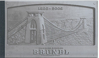 Gb 2006 Prestige Booklet Dx 36 Isambard Kingdom Brunel