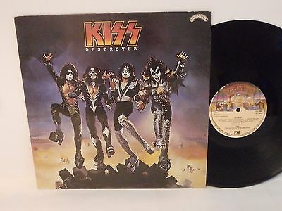 70s Heavy Rock KISS destroyer Original 1976 UK Vinyl LP Ex