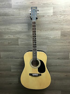 Encore EWP100 right handed  6 string Acoustic Guitar Pack,strings pics etc. NEW