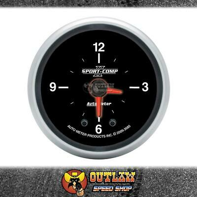 "Autometer Clock In Dash Quartz Movement 2.1/16"" - Au3685"
