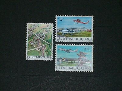 Luxembourg - 1981 - Aviation - Yt N° 987/989 - (Mnh)