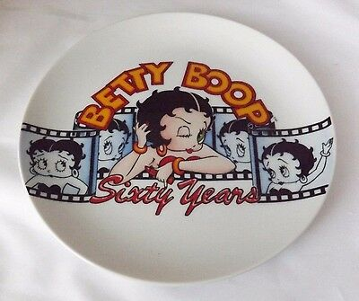 """Betty Boop Sixty Years Plate by Vandor 7.5"""" New"""