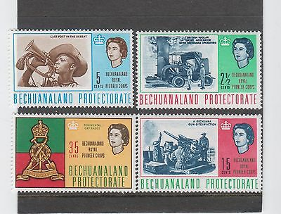 Bechuanaland - 1966 - Corps Royal Des Pionniers - Yt N° 149/152 (Mnh)