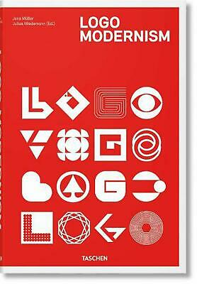 Logo Modernism by Jens Muller (English) Hardcover Book Free Shipping!