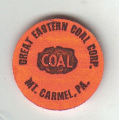 A Great Eastern Coal Company Scatter Tag