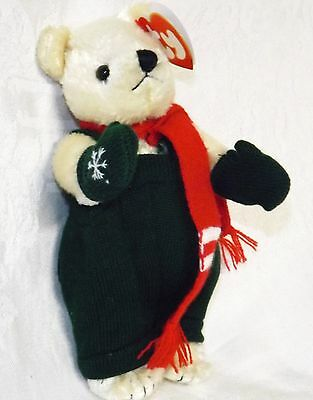 Ty Attic Treasure Christmas Bear Weatherby NWT
