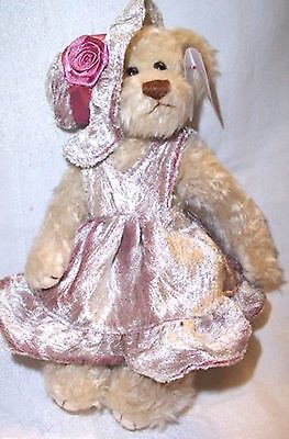 "Ty Attic Treasure Bear Darlene NWT Retired Approx. 8"" tall"