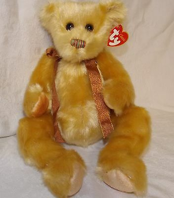 """Ty Classic Bear Jeeves 13"""" NWT"""