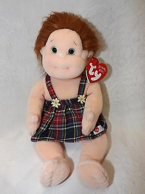 Ty Beanie Kids Girl Named Ginger NWT