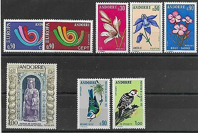 Andorre Neuf** Annee Complete 1973