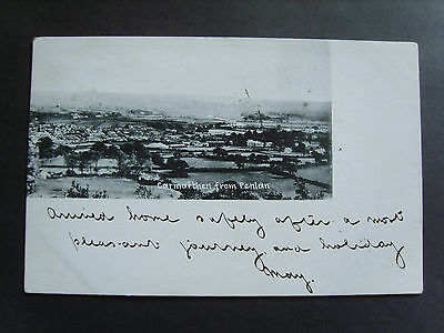 Carmarthen:  Carmarthen From Penlan - Printed - Posted 1902