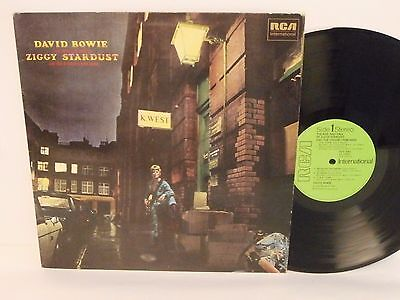 70s DAVID BOWIE rise and fall of ziggy stardust UK Vinyl LP Mint
