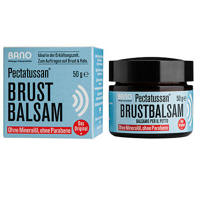 BANO - PECTATUSSAN BRUSTBALSAM | ointment  |  50g (€ 19,80 pro 100 g)
