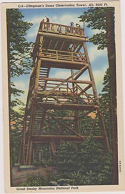 Great Smoky National Park Post Card. Unused