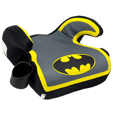 KidsEmbrace Fun Ride Backless Booster Car Seat - Batman