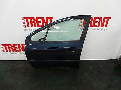 2006 PEUGEOT 307 5 Door Hatchback Blue N/S Passengers Left Front Door