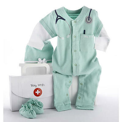 Baby Aspen Big Dreamzzz-Baby M.D. 3-Piece Layette