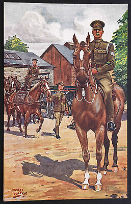 Postcard ~ Royal Army Service Corps ~ Animal Transport Wing ~ Gale & Polden