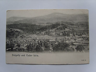 Merionethshire: Long View Of Dolgelly & Cader Idris - Printed - Posted 1910