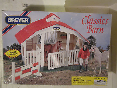 Breyer Classics Barn No.650 Used In Orig. Box Nice Find!!!