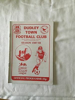 DUDLEY TOWN v SUTTON COLDFIELD TOWN 1987/8.