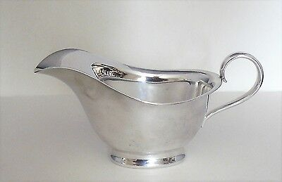 Vintage ATKINS Brothers  EPNS  SILVER PLATED SMALL SAUCE BOAT - Model 5305 - Vgc